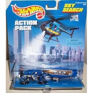 Mattel Hot Wheels 1998 164 Scale Gold & Blue Police Propper Chopper