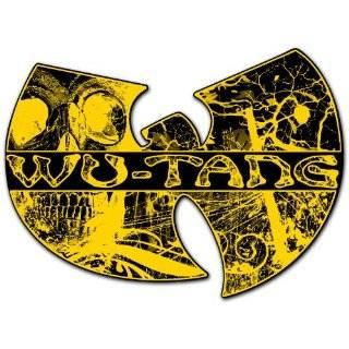 Wu Tang Clan Hip Hop Band Skull Car Bumper Sticker Decal 5x3.5