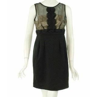 Evening Affair Dress Black/Nude 2P Evan Picone An Evening Affair Dress
