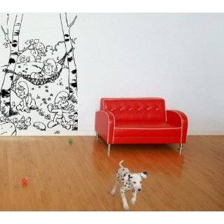 THE SMURFS WALL ART MURAL STICKER BABY ROOM M402