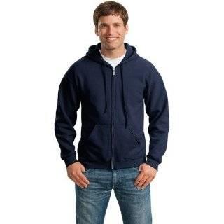 Zip Up Hooded Sweatshirt  Premium Hoodie With Zipper (Red) Clothing