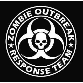 Zombie Outbreak Response Team NEW DESIGN Die Cut Vinyl Decal Sticker 9