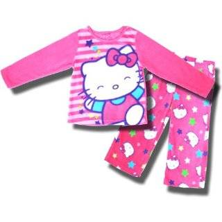 AME Sleepwear Girls 7 16 Hello Kitty Bows and Dots Set Clothing