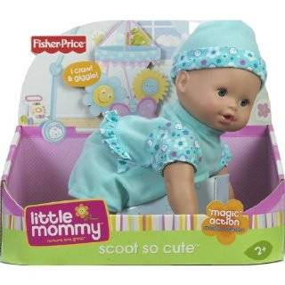 Little Mommy Real Loving Baby Scoot So Cute Doll   Purple