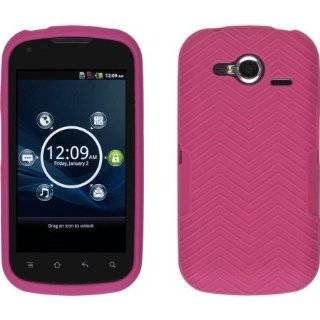 Wireless Solutions Plum Pink Soft Touch Snap On Case for Pantech Burst