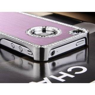 Pandamimi Pink Deluxe Plastic Chrome Genuine Leather Case