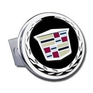 Cadillac Chrome Logo Tow Hitch Cover Plug Automotive