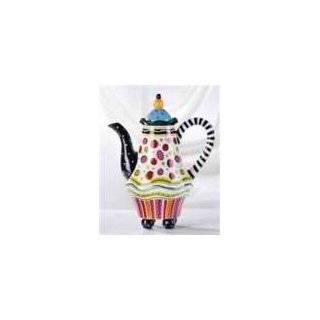 Patience Brewster Krinkles   Chicken Teapot (08 30369