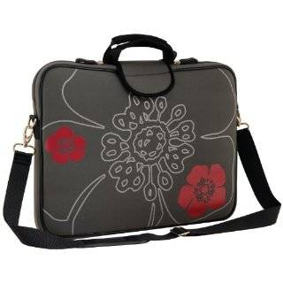 / Notebook Sleeve Case Bag w/Handle & Shoulder Strap   Gun Metal