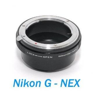 Mount Lens to Sony E mount NEX 3 NEX 5 Body Adapter