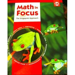 in Focus  The Singapore Approach Student Book, Grade 3A [Hardcover