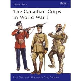 Canadian Forces in World War II (Men at Arms) [Paperback]