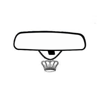 Crystals Pendant Key Chain Car Truck SUV Rear View Mirror Hanger