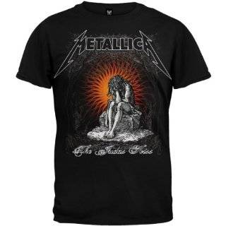Metallica Judas Kiss Logo Mens Tee Shirt Clothing