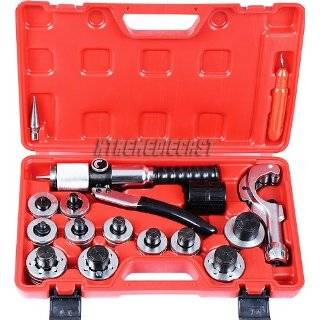 Lever Tubing Expander Tool Swaging Kit Hvac Tools Tube, Piping & Pipe