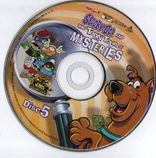 Scooby doo and the Toon Tour of Mysteries Disc 5 DVD ROM