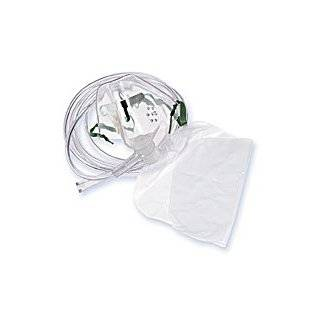Disposable Oxygen Masks   Adult   Non Rebreather Mask Reservoir Bag