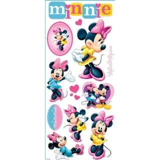 Mickey Mouse Clubhouse 3D Stickers Minnie Mouse Arts