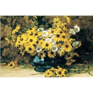 Canvas by Marc Aurele de Foy Suzor Cote, Still Life with Daisies, 36