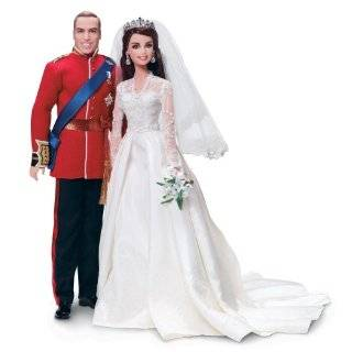 Barbie William and Catherine (Kate Middleton) Royal Wedding Collector