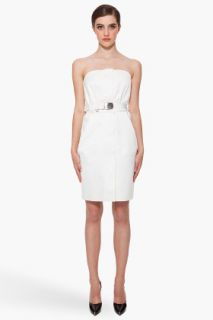 Marc Jacobs Strapless Belt Dress for women