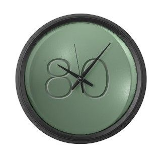 Oxycontin 80mg Green Pill Large Wall Clock by WingDingDesigns