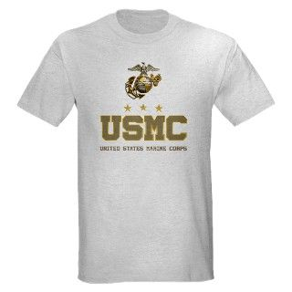 USMC   Eagle Globe Anchor T Shirt by TeamWinchester