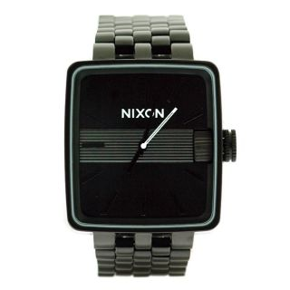 Nixon Mens Sultan Custom 100 Stainless Steel Watch