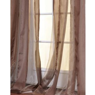 Jamocha Striped 96 inch Sheer Curtain Panel Today: $48.99 4.5 (6