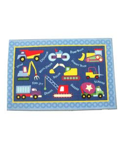 Kids Construction Rug (33 x 410)