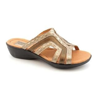 Clarks Artisan Womens Rejoice Leather Sandals   Wide