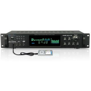 Technical Pro HB 2502U Digital Hybrid Amplifier/ Preamp/ Tuner