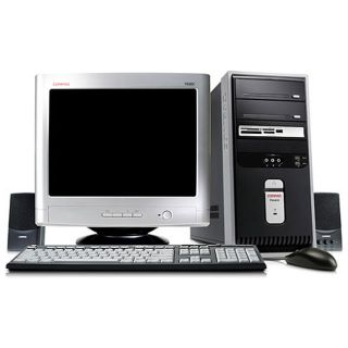 Compaq Presario SR1811nx b Desktop PC Bundle (Refurbished)