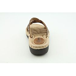 Clarks Artisan Womens Latin Ivy Brown Sandals
