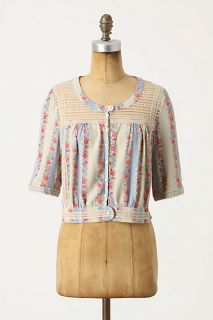 China Patterns Blouse