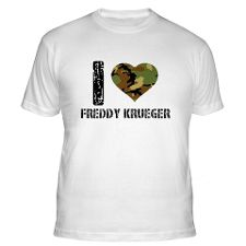 Love Freddy Krueger T Shirts, I Love Freddy Krueger Shirts & Tees