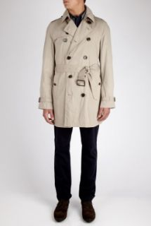 Burberry Brit  Beige Exploded Check Lined Trench Coat by Burberry Brit