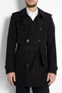 Burberry Brit  Black Check Lined Packable Trench Coat by Burberry Brit