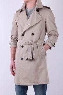 Taupe Classic Trench Coat by Burberry Brit Brit   Neutral   Buy Coats Online