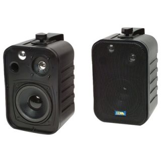 TIC Corporation ASP25BW Indoor/Outdoor 2 Way 50W Speakers