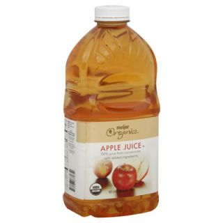 Meijer Organics Apple Juice   1 Bottle (64 fl oz)