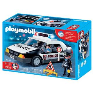Playmobil Police Car Playset   5915