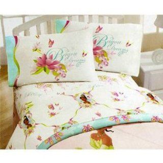 Princess and the Frog Twin Sheet Set   Girls Bed Sheets: Toys & Games