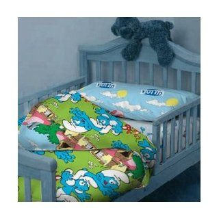 The smurfs Kids Bed Set 3pcs single bed set 100% COTTON