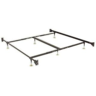 Sturdy Metal Bed Frame with Glides By Leggett Platt: Home & Kitchen