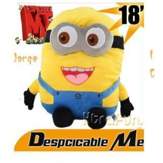 Despicable Me 2   Minion Stuart 15 Large Plush Doll: Toys