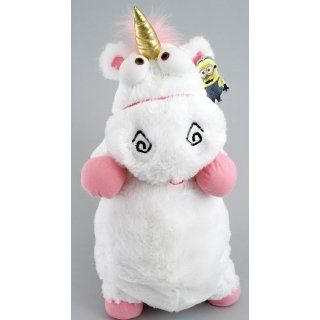 Despicable Me Unicorn Plush Fluffy White (2 FEET TALL) w