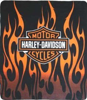 Harley Davison Fleece Blanket