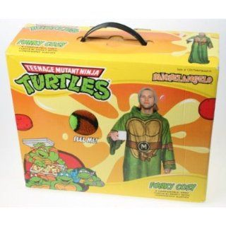 Turtles Fleece Blanket with Sleeves (Michelangelo): Home & Kitchen
