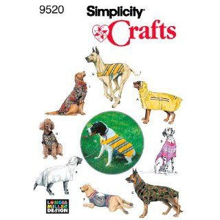 Simplicity sewing pattern 2303: Dog Clothes. For large and